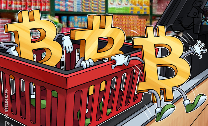 "Bitcoin the third largest ""congested commercial area"""