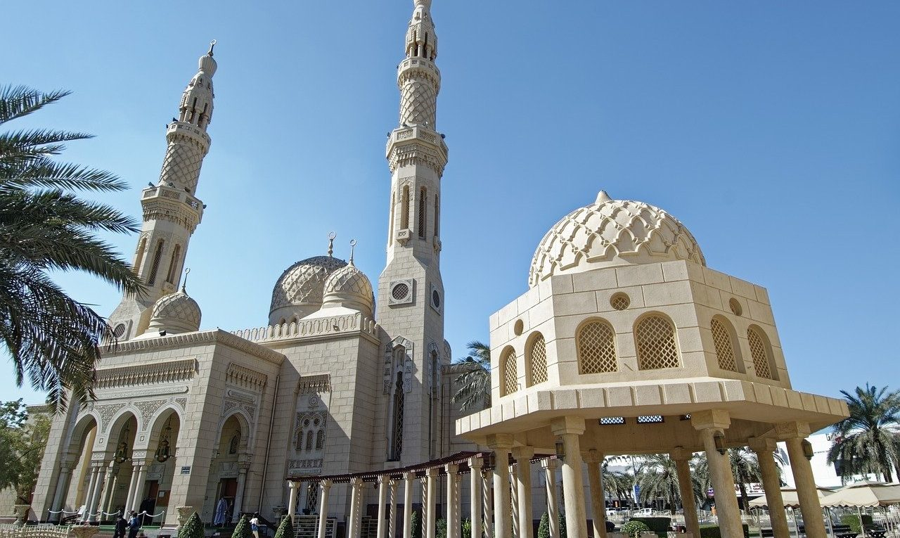 Cultural Attractions in Dubai - Jumeirah Mosque